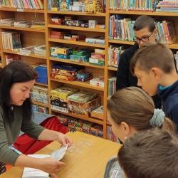 IV. třída knihovna